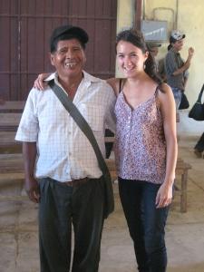 With Anastacio Mamaní Callisaya